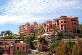 Buildings of the luxury hotels, Tenerife island, Spain — Stock Photo