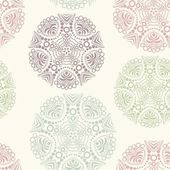 Floral seamless pattern, endless texture. — Vector de stock