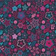 Royalty-Free Stock Immagine Vettoriale: Romantic floral pattern, endless texture.