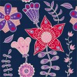Royalty-Free Stock Imagen vectorial: Romantic floral pattern, endless texture.