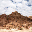 Travel in Arava desert — Stock Photo
