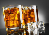 Whisky en ijs — Stockfoto