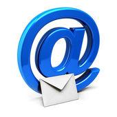 Mail symbol — Stock Photo