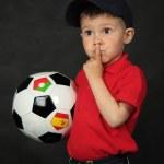 Portrait of the boy — Stock Photo