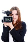 Video operator — Stock Photo