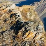 Autumn rocks — Stock Photo