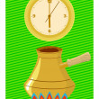 Royalty-Free Stock Vector Image: Time to make coffee