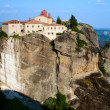 Monastery Sacred Stefan, Meteora, Greece - Stock Photo