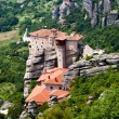 Nunnery Roussanou, Meteora, Greece - Stock Photo