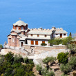 Temple of Sacred George's monastery, Athos - Stock Photo