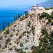 Sacred George's monastery, Athos - Stock Photo