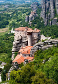 Nunnery Roussanou, Meteora, Greece — Stock Photo