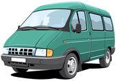 Minibus — Stock Vector