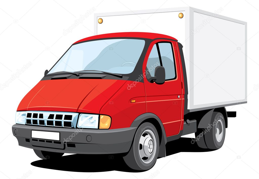 Delivery truck — Stock Vector © Alexey71 #6326613