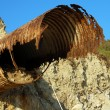 Stock Photo: Rust on iron Pipe