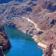 Hoover Dam on Lake Mead Las Vegas — 图库照片
