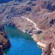 Hoover Dam on Lake Mead Las Vegas — Foto de Stock
