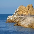 Catalina Island Rock — Stock Photo