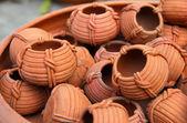 素焼き粘土陶器 — ストック写真