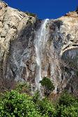 Bridalveil fall at Yosemite National Park — Stock Photo