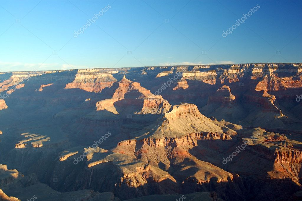 Grand Canyon Landscape from the south rim arizona america usa  Stock Photo #6465176