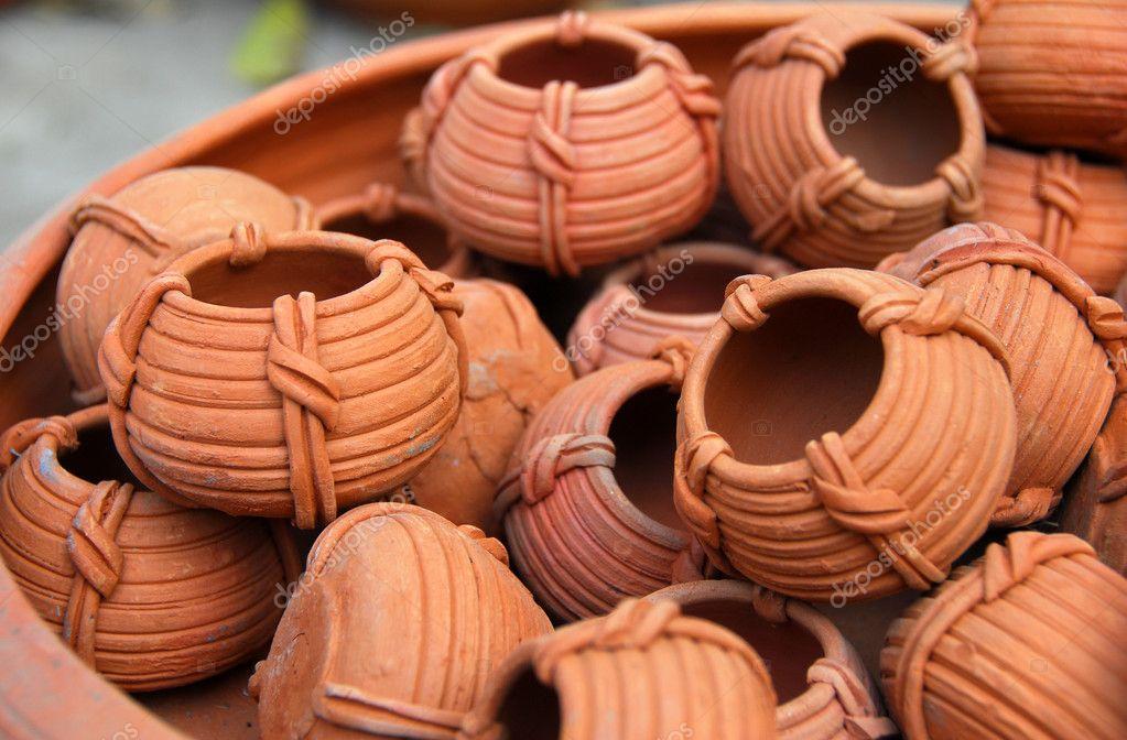 Cer mica terracota arcilla foto de stock nikonite 6465316 for Arcilla para ceramica
