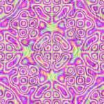 Colorful chrome background — Stock Photo