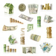 Stock Photo: Money collection