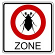 Cockchafer traffic sign — Stock Photo #5751684