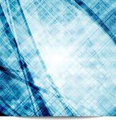 Blue vector design — Stock Vector