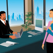 Business working in office — 图库照片 #5836249