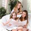 Stockfoto: Reading together