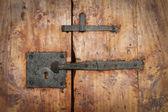 Puerta vieja — Foto de Stock