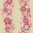 Stock Vector: Seamless floral pattern