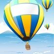 Royalty-Free Stock Vectorielle: Hot Air Balloons