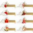 Royalty-Free Stock Vector Image: Set of different Christmas banners