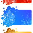 Set of different Christmas banners — Stock Vector