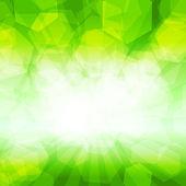 Fondo verde resumen — Vector de stock