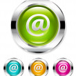 Email button — Stock Vector #5794316