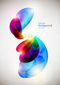 Abstract colorful forms — Stock Vector