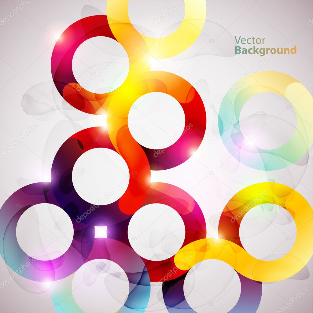 Abstract colorful circles — Stock Vector #6429811