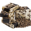 Stock Photo: Coffee handmade soap