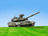 T-90S Battle Tank — Stock Photo