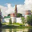 Stock Photo: Novodevichy convent in early morning