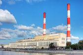 Elektrische elektriciteitscentrale — Stockfoto