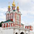 Gate Church of the Novodevichy Convent — Stock Photo