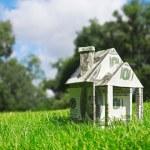 Money for new housing — Stock Photo