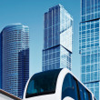 Modern monorail — Stock Photo
