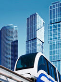 Modern monorail — Стоковое фото
