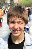 Smiling teenager — Stock Photo